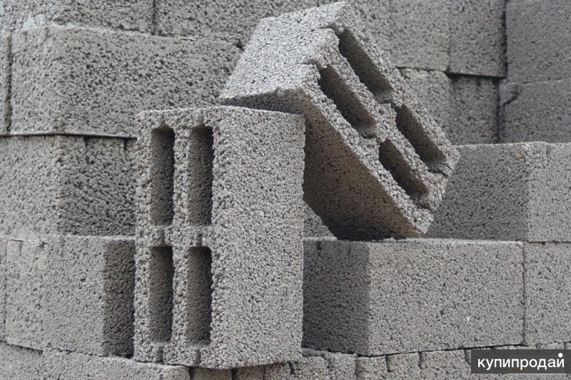 керамзитобетонный блок стеновой от 32 руб,перегородочный 17 руб..