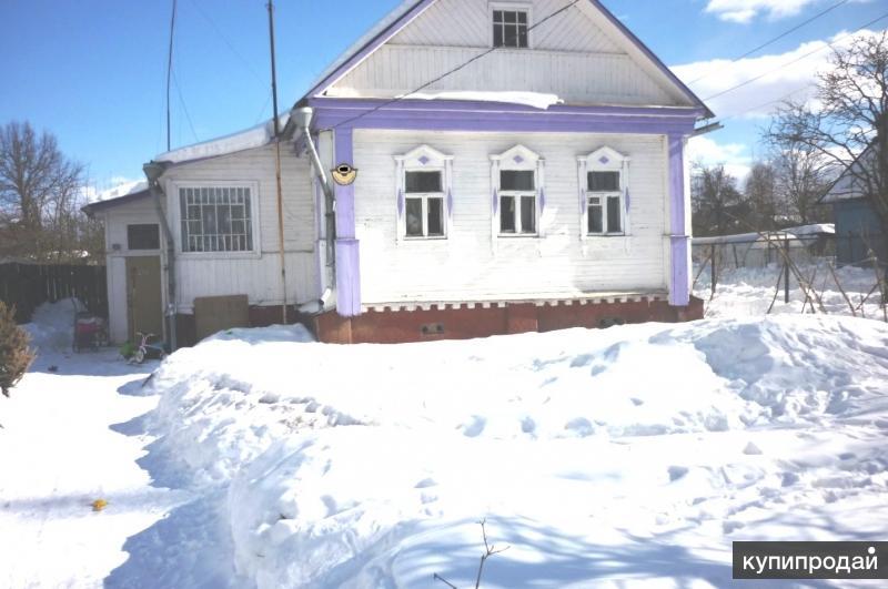 Дом 48 м2,бревно,коммуникации,г. Сергиев Посад,проезд Бабушкина.