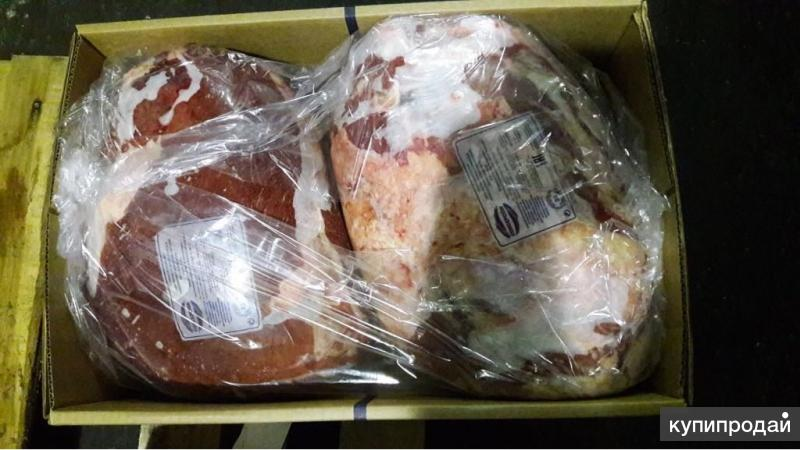 Замороженная говядина, свинина, конина, курица.