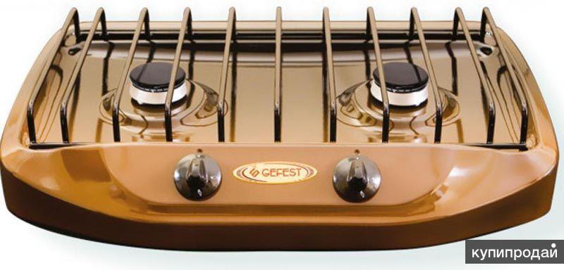 Газовая 2комфорочная плита ГЕФЕСТ