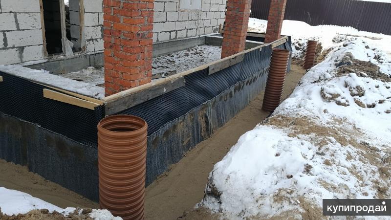 Дренажные работы в Егорьевске