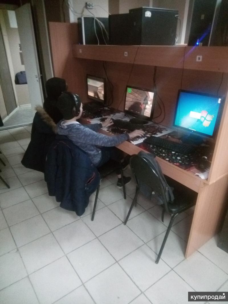 Продается работающий компьютерный клуб