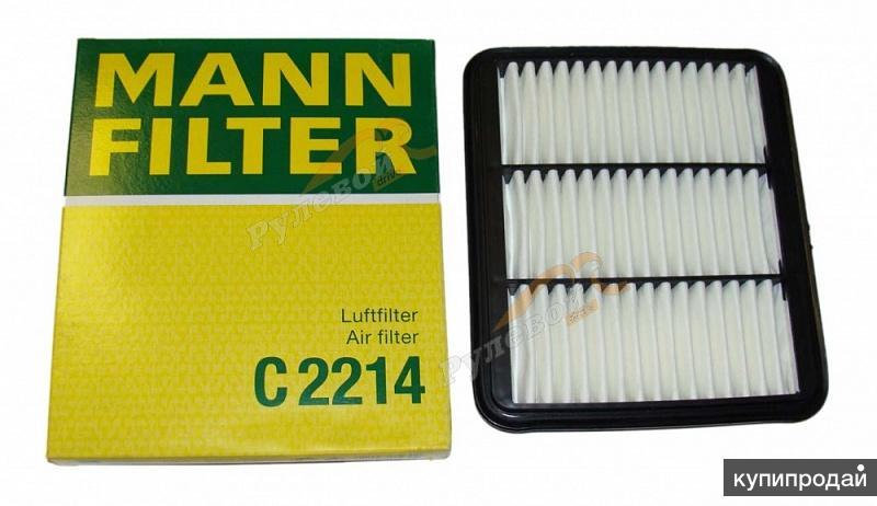 Воздушный фильтр MANN-FILTER C 2214