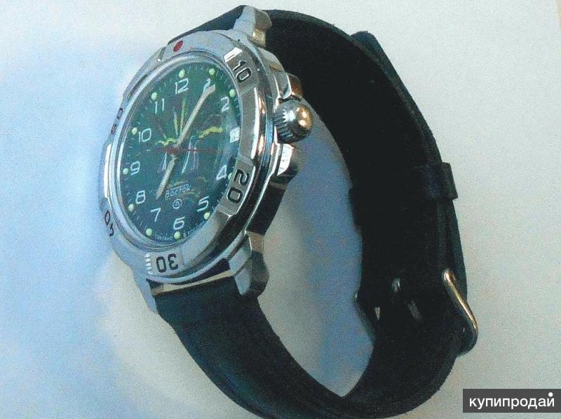 Часы Восток Командирские новые, оригинал