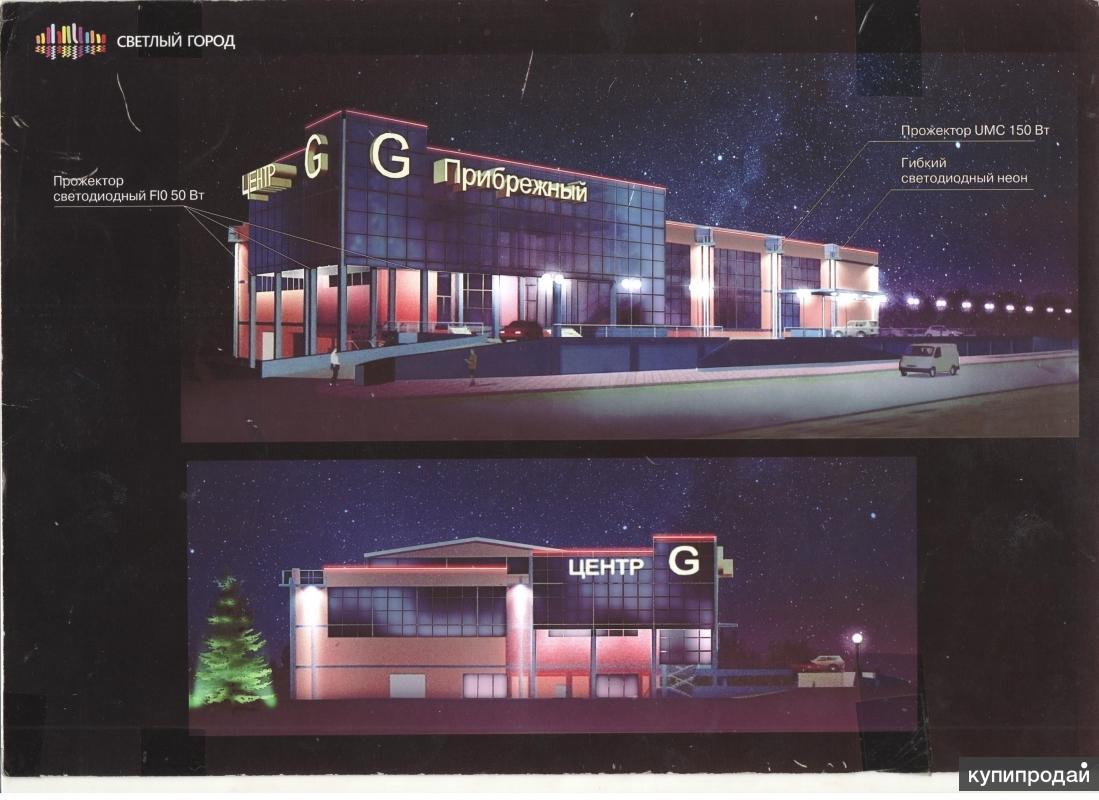 Продаем строящееся здание торгового центра