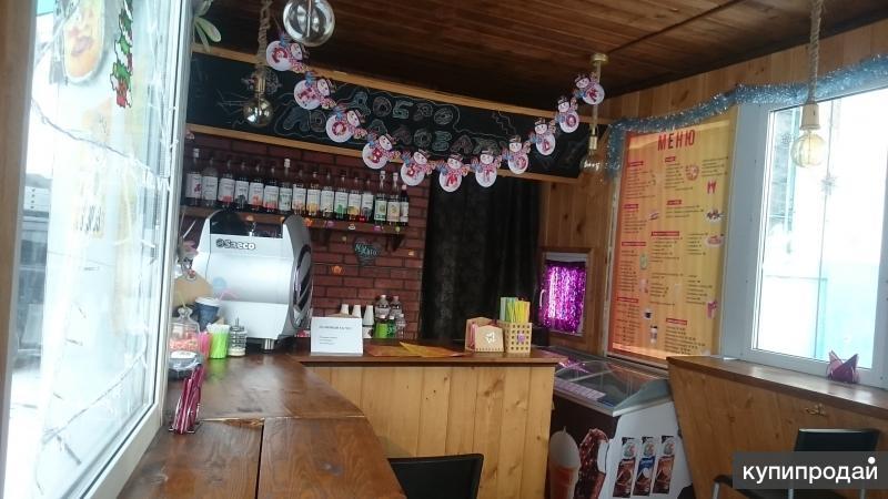 Киоск-павильон-автокафе