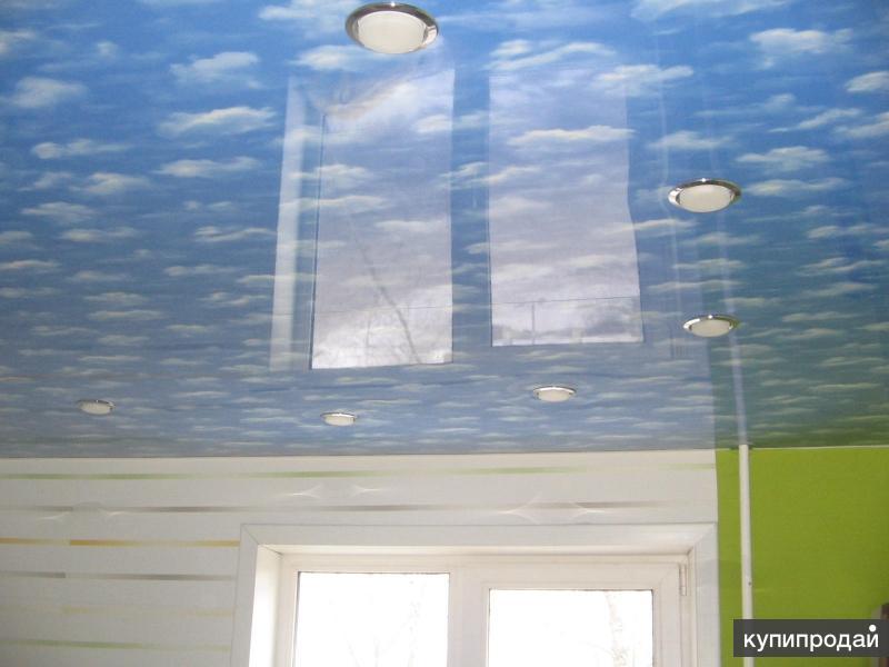 Натяжные потолки в Черногорске
