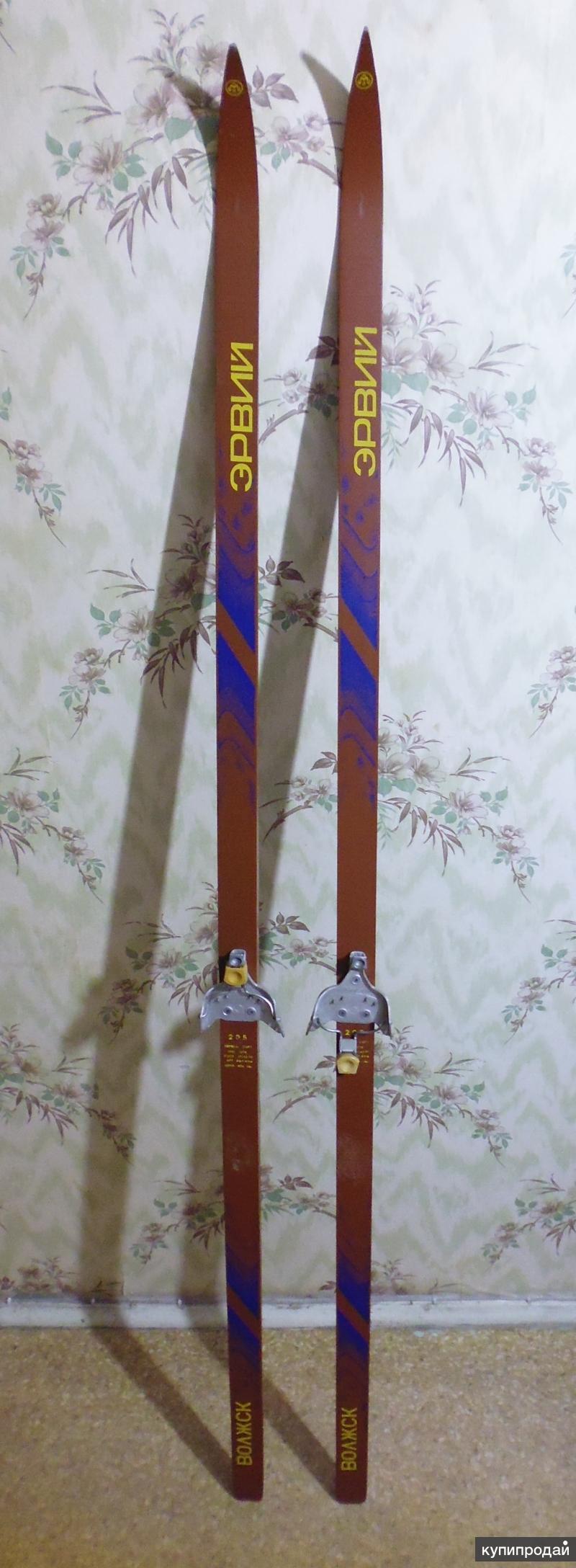 Продам беговые подростковые лыжи эрвий