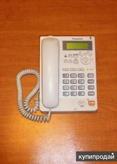 Продам стационарный телефонный аппарат Panasonic