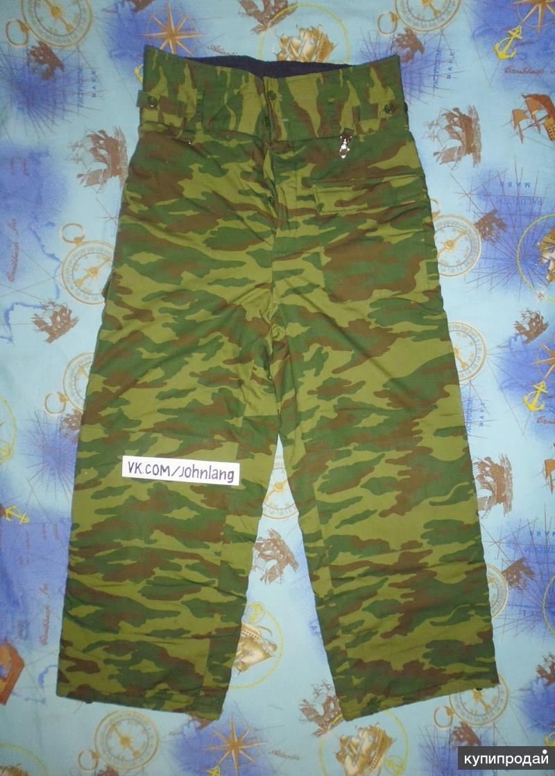 Продам штаны утеплённые в камуфляже Флора