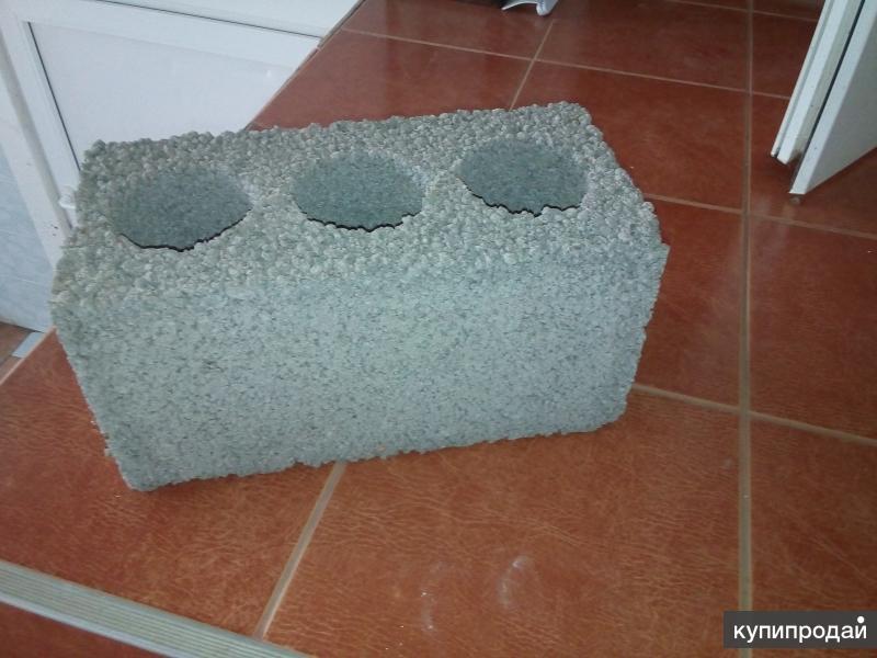 Блоки строительные 390*190*190