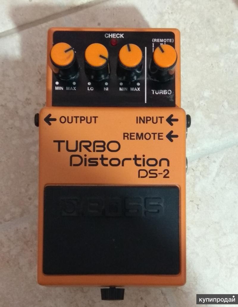 Педаль BOSS Turbo Distortion ds 2