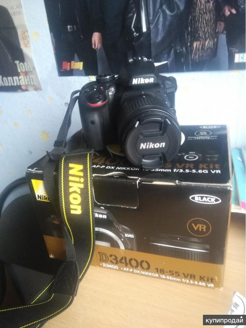 Фотоаппарат D3400 + сумка