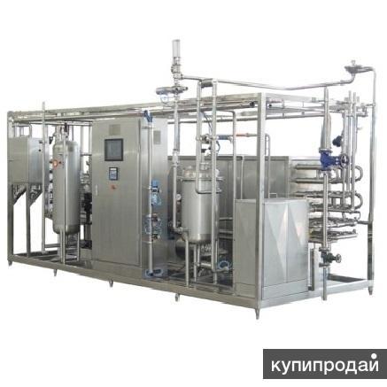 Установка ультрапастеризации (стерилизации) молока и сливок