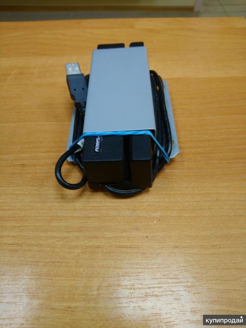 Считыватель карт щелевой Posiflex MR2000 USB.
