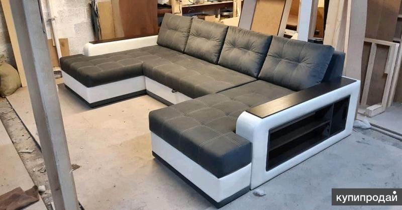 "П-образный диван ""титан"""