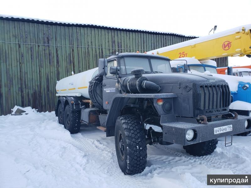 Урал-4320 АЦПТ-10 автоцистерна питьевая пищевая водовоз АЦП АЦ бочка