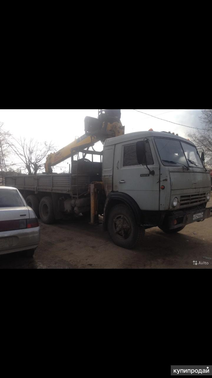 МАНИПУЛЯТОР -КАМАЗ 7 ТОНИК