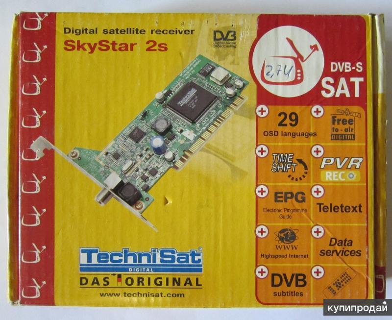 Спутниковая карта TechniSat SkyStar 2s