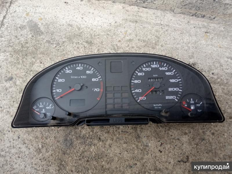 Audi 80 b3,панель приборов