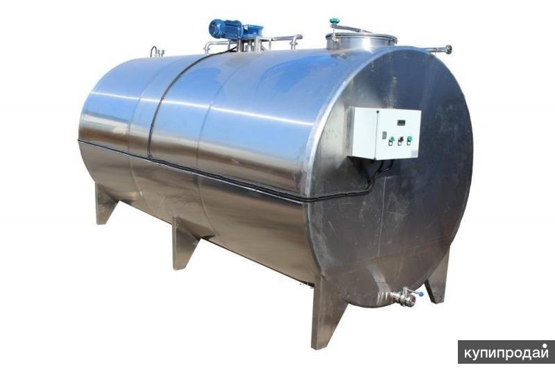 Емкости для хранения и охлаждения молока
