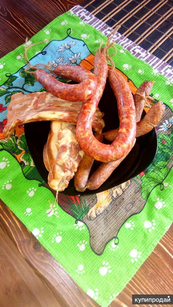 Домашняя колбаса,деликатесы,копчености