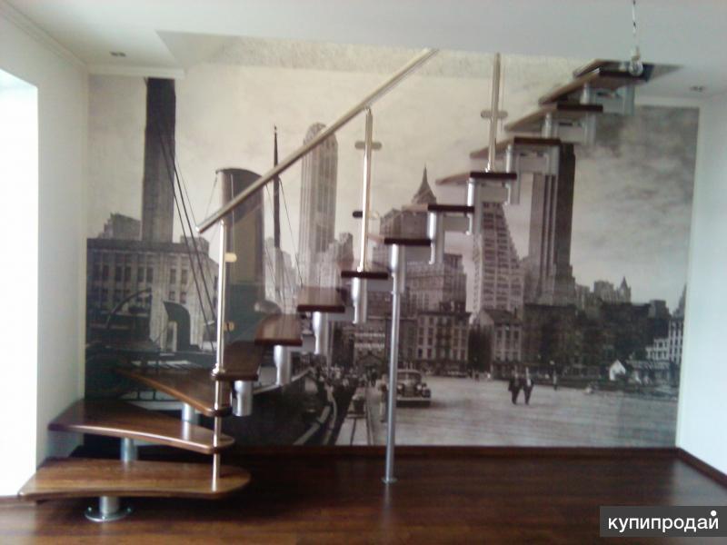 Модульная лестница. Лестничный модуль.