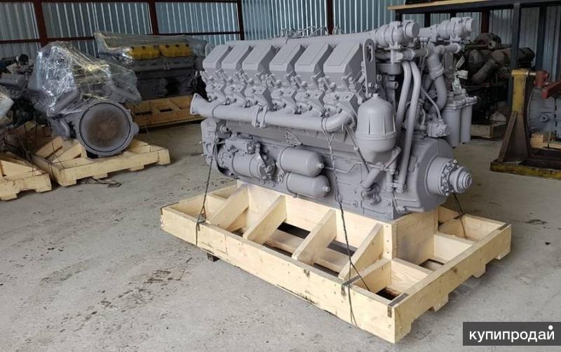 Двигатель ЯМЗ 75.11 с раздельными головками