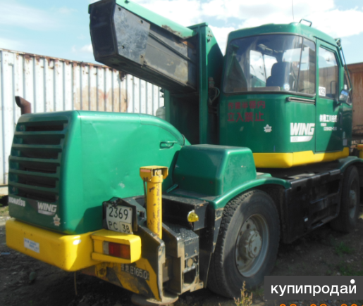 Кран самоходный Komatsu LW100-1E