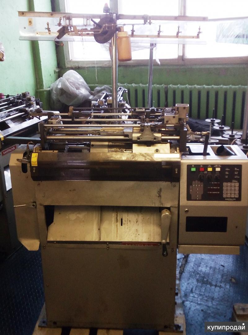 Компьютеризированный трикотажный перчаточный автомат MATSUYA