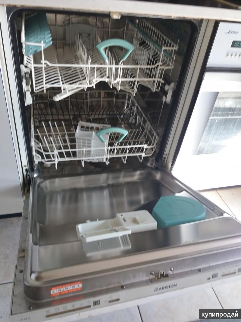 Встраиваемая посудомоечная машина ariston