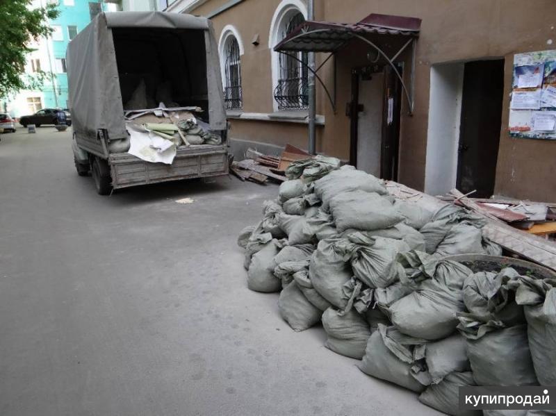 Вывоз строительного мусора, подъём стройматериалов, грузчики, демонтаж