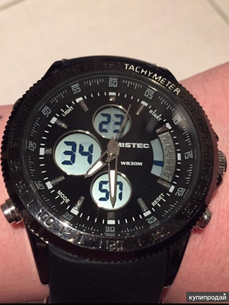 Продам новые спортивные часы Bistec унисекс