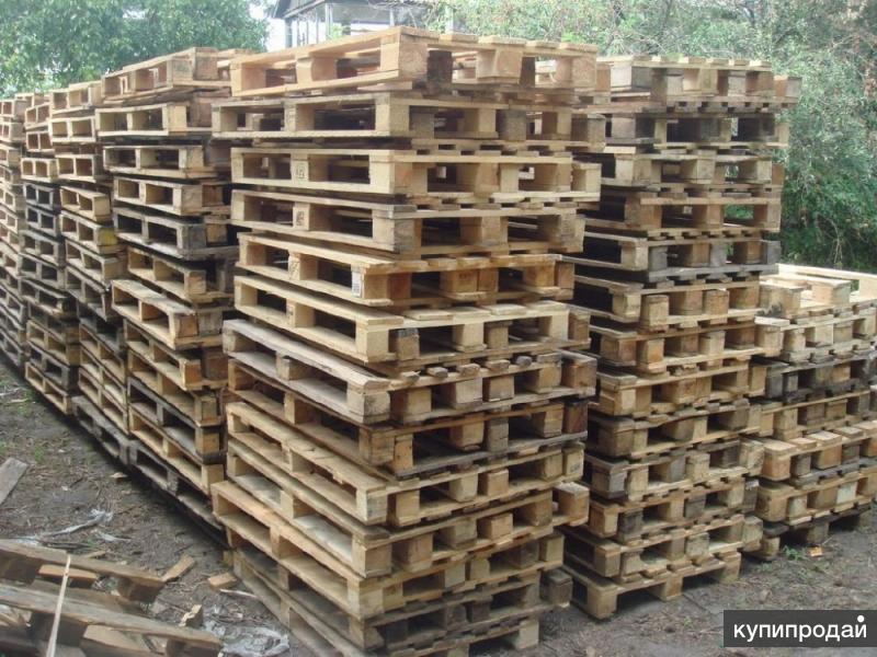 Продажа деревянных поддонов (паллеты)