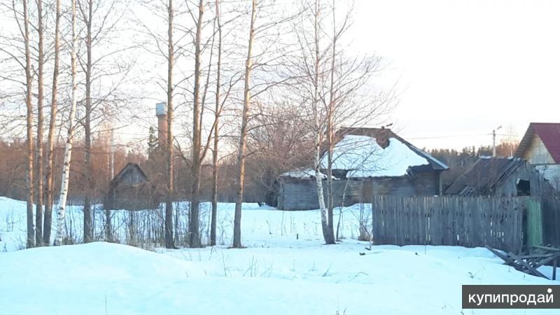 Дом 40 м2  с земельным участком 20 соток в Московской области под ИЖС