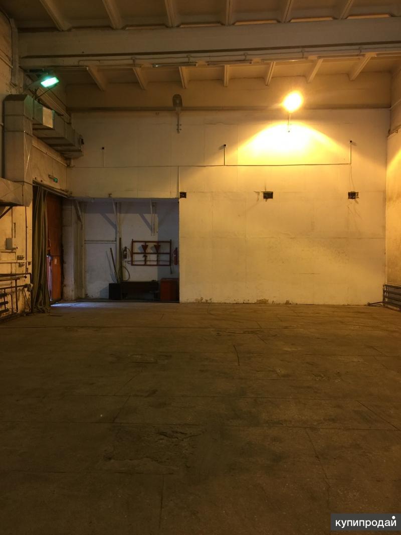 Сдам теплый склад 536 м2. потолок 7 метров.