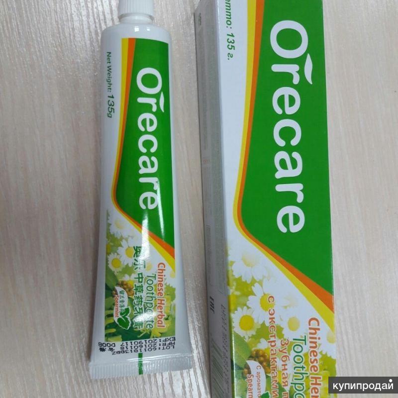 Зубная паста на травах