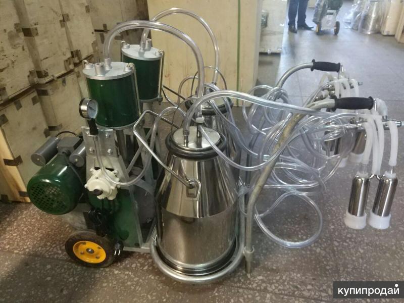 Доильный аппарат для коров Маруся-Тандем