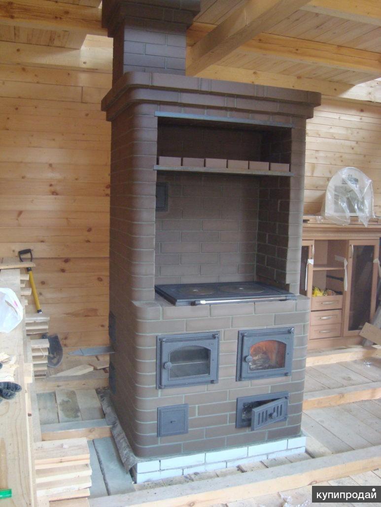 Отопительно варочная печь фото шведка