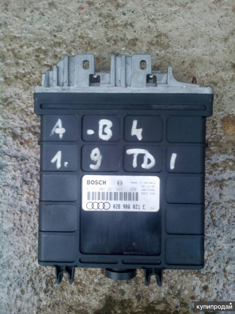 Ауди 80 б4,блок управления двигателем