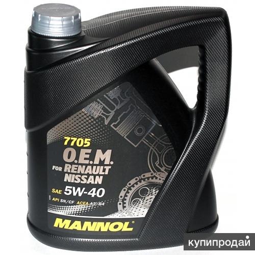 Масло Mannol