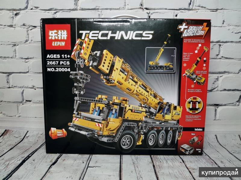 Конструктор Lepin 20004 - Передвижной кран MK II (аналог LEGO)