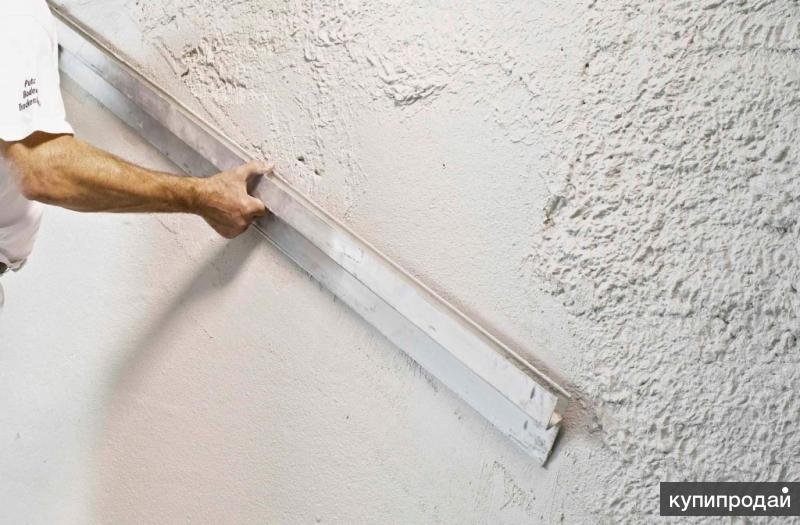 Гипсовая штукатурка стен под ключ
