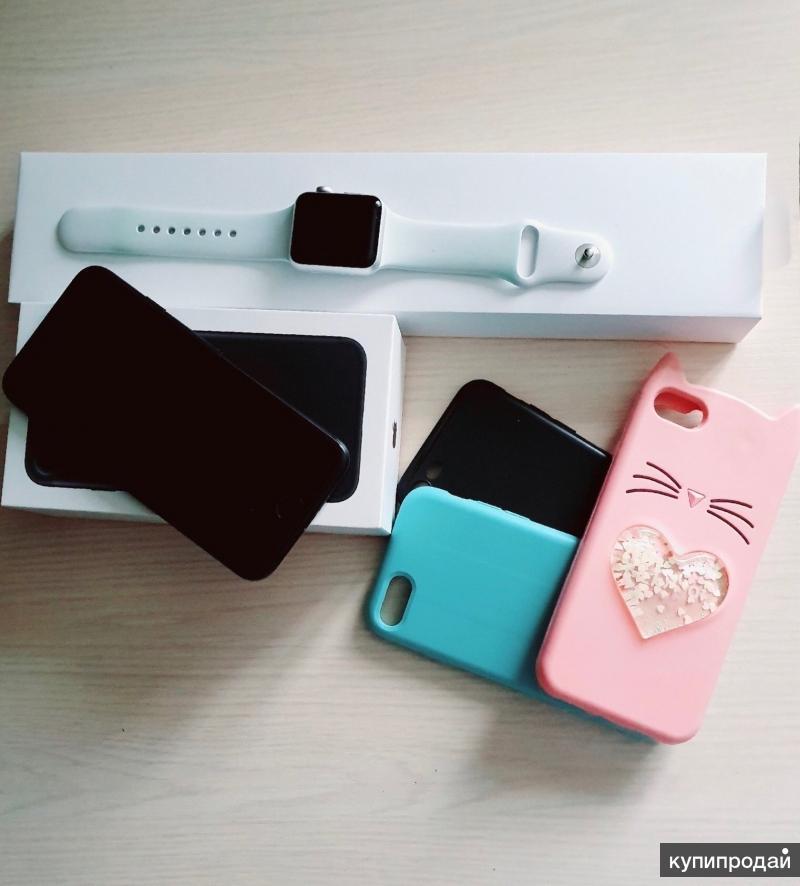 Apple Watch +iPhone 7