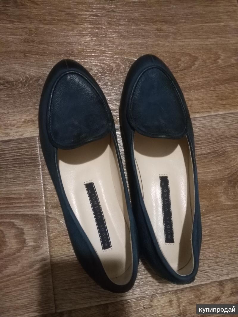Туфли из кожзаменителя
