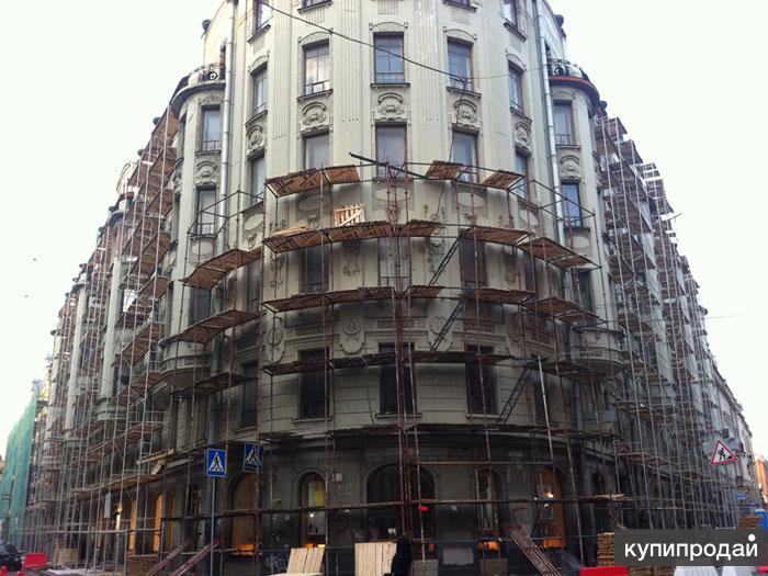 Стальные и алюминиевые вышки-тура, леса фасадные в Курской области.
