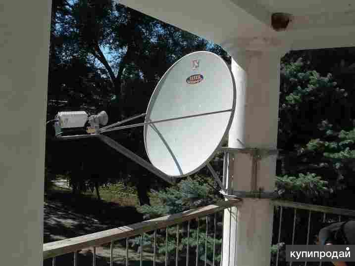 Строительство станций спутниковой и радиорелейной связи.