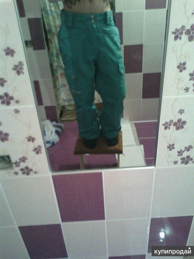 Сноубордические штаны Burton!