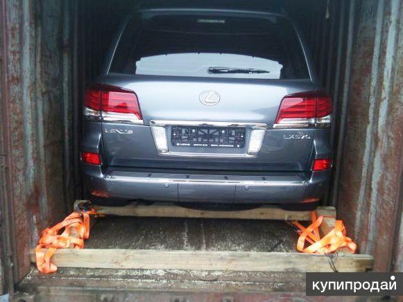 Перевозки автомобилей в ж/д контейнерах из Москвы по России.