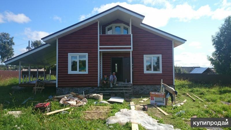 Строительство домов из фибробетона - Самый лучший вариант.